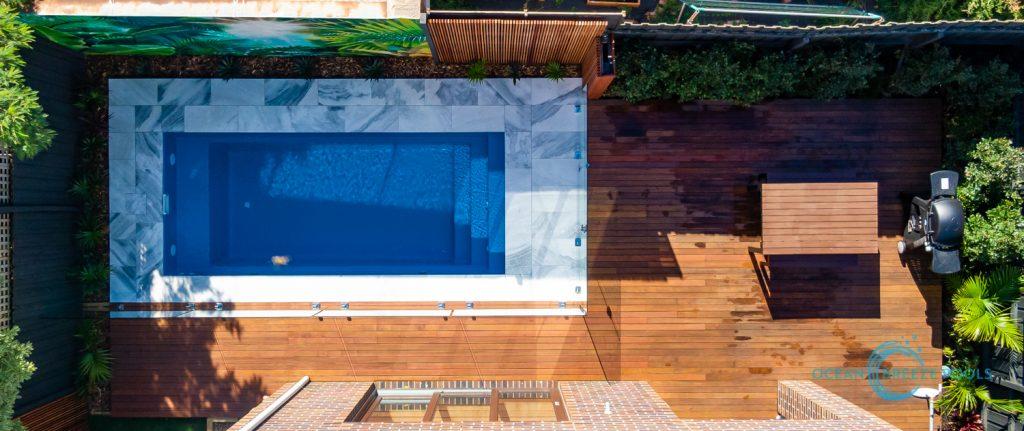 Fibreglass pool Mornington