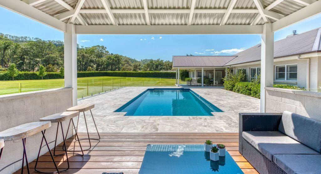 Ocean Breeze Pools, Classic Design. Colour: